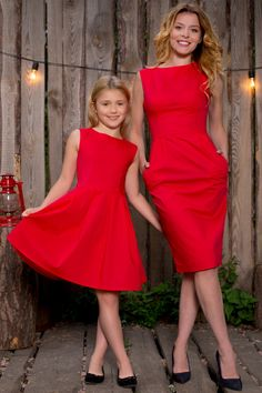 I don't understand why my wife and daughter won't wear matching outfits. My son and I love dressing alike! Mommy Daughter Dresses, Mother Daughter Dresses Matching, Mother Daughter Fashion, Mom Dress, Mom Daughter, Mom And Baby Outfits, Matching Family Outfits, Girl Outfits, Junior Girls Clothing
