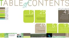 UP magazine table of contents by alexisr, via Flickr