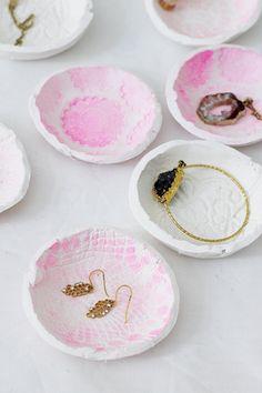 DIY Schalen aus Ton machen