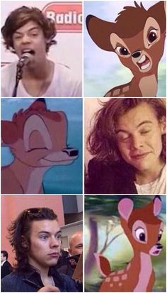 Harry or Bambi?? The world never know it!!!