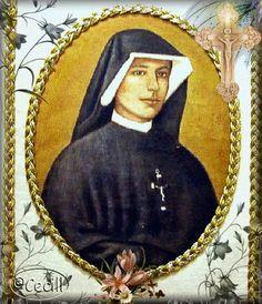 Imágenes de Cecill: Estampas de Santa Faustina Kowalska, Apóstol de la Divina Misericordia