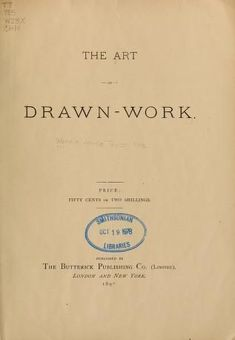The art of drawn-work