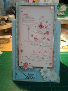 I used Hunkydory card kit Hunky Dory, Card Making Inspiration, Card Kit, Card Ideas, Projects To Try, Birthdays, Paper Crafts, Cards, Handmade