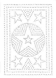 Tin Punch Patterns :: P 1011 Texas Star 10x14 - Pierced Tin Designs