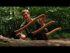 """Ray Mears - Choosing and using an axe, Bushcraft Survival. Heralded by Ray as """"the number one axe choice for Bushcraft"""", the ever-popular Small Forest Axe is an ideal all-round model from Swedish company Gransfors, and weighs in at just 1 kg. It is the middle of the three axe sizes shown in the video above."""
