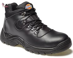 Dickies FA23380A BK 5+ Fury Chaussures haute sécurité S1-P Taille 39 Noir - Chaussures dickies (*Partner-Link)