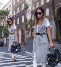awesome Модный женский пиджак без рукавов (50 фото) — С чем носить, как компоновать? Читай больше http://avrorra.com/pidzhak-bez-rukavov-zhenskij-foto/