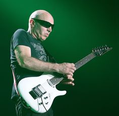 Joe Satriani performs during the Marshall 50 years loud live event at Wembley Arena on September 2012 in London, England. Joe Satriani, Wembley Arena, The Marshall, London United, September 22, Live Events, London England, United Kingdom, England
