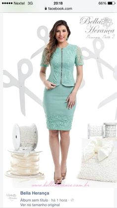 Discover recipes, home ideas, style inspiration and other ideas to try. Casual Dresses, Short Dresses, Fashion Dresses, Turquoise Clothes, Formal Wear Women, Work Dresses For Women, Classy Suits, Work Attire, Skirt Outfits