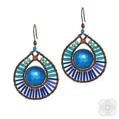 Jewelery, Handmade Jewelry, Drop Earrings, Blue, Collection, Jewlery, Jewels, Jewerly, Handmade Jewellery