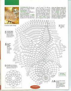 Kira scheme crochet: Scheme crochet no. 1744