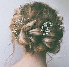 Baby's breath braids