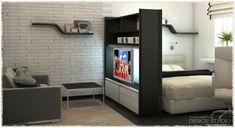 дизайн однокомнатной квартиры фото - Поиск в Google