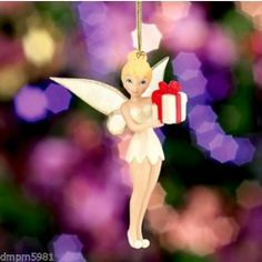 Lenox 2013 Disney's Pixie Present Tinkerbell Ornament New in Box | eBay $25