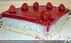 Himbeer - Mohn - Torte