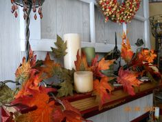 mantle fall orange