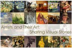 Beautiful, free art history lessons for grades 1st-7th.  10 lessons for each grade, on famous artists.