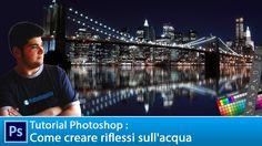 Tutorial Photoshoop per capire come realizzare in maniere semplice e veloce un riflesso sull'acqua fruttando le nostre fotografie panoramiche.