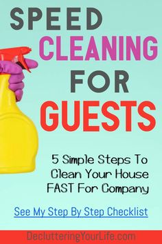 , House Cleaning For Guests - Step By Step and Room By Room Checklist , House Cleaning For Guests - Step By Step, Room By Room Checklist. These speed cleaning tips are an easy house cleaning checklist to clean for company,. Speed Cleaning, Deep Cleaning Tips, Cleaning Hacks, Organizing Tips, Organization, Arm And Hammer Super Washing Soda, House Is A Mess, House Cleaning Checklist, Energy Saving Tips