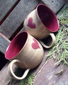 Heart Mug Set