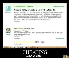 Bets cheating story ever because it's not