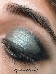 eye makeup | ILLAMASQUA Sophie-I inspired smokey eye makeup look