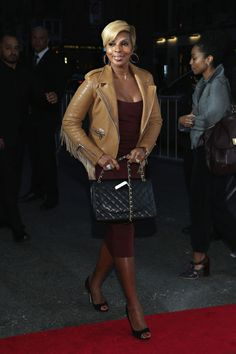 Mary J. Blige. See all the celebrities who attended the 2015 Tribeca Film Festival.