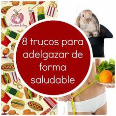 El Cuaderno de Flores-farmacia, nutrición y vida sana: 8 trucos para adelgazar de forma saludable, y mant...