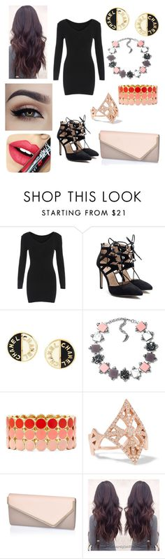 """JO"" by postgirl19 ❤ liked on Polyvore featuring Chanel, Liz Claiborne, Carbon & Hyde and Fiebiger"