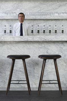 Sexy Stools. Joseph Dirand Interior Design. Via catchtag blog.