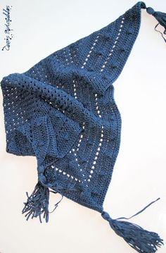 Chèche au crochet                                                                                                                                                     Plus