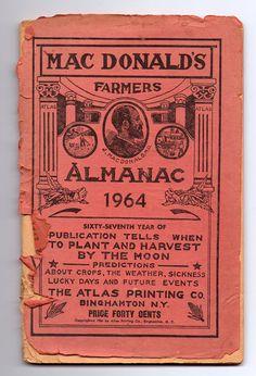 Farmers Almanac, 1964.