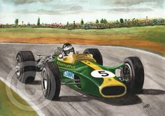 """James """"Jim"""" Clark was born on the 4th march 1936 in Fife Scotland he was a natural born racer who mastered many forms of motor car racing from his early day's racing in local hill climb and road rally events to his 18 race wins racing in the jaguar and Porsches sports car events and then his two F1 world championship wins for Lotus Jim still holds the F1 record for the highest percentage of possible championship points in a season at 100 and also holds the records for the highest percentage…"""