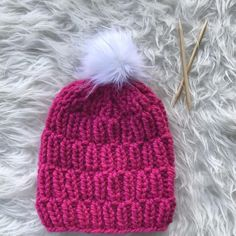 829291a9815 Chunky Slouchy Knit Hat