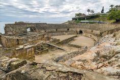 Anfiteatro de Tarragona: luchas de gladiadores sobre la arena
