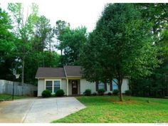 Priced to SELL FAST Updated roof H2O Flooring (NO CARPET). 1-Level living just minutes from SAS RTP Raleigh and I-40  Fenced backyard for 2 and 4 legged friends and family.  Stainless Appliances. Side by Side Frig. Home being SOLD AS IS   Buyers hurry this home will not last in CARY. Bring your paint if you like neutral colors and make it YOURS  Merry Ann Cutler, RE/MAX United 919-661-9271