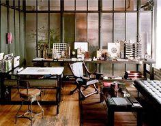 1000 images about loft industriel on pinterest cuisine industrial and at - Bureau style atelier ...