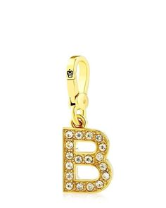 Juicy Couture Pave A  Juicy Couture Pave A Juicy Couture Pave Alphabet Initial Charm, Gold Tone >>> You can get more details by clicking on the image. (This is an affiliate link and I receive a commission for the sales)