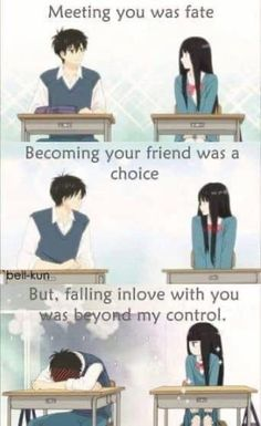 Best Quotes Love For Her Romantic Truths Ideas anime quotes Best Quotes Love For Her Romantic Truths Ideas Love Quotes For Her, Cute Love Quotes, Funny Love, Sad Anime Quotes, Manga Quotes, Kimi Ni Todoke, Anime Life, Cute Anime Couples, Funny Couples