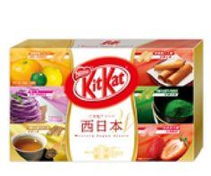 Japanese Kit Kat- Japan-limite Japan West Chocolate Box 5.2oz (12 Mini Bar) Nestle http://www.amazon.com/dp/B00FKQ7ZVQ/ref=cm_sw_r_pi_dp_4aOvwb04W11P5