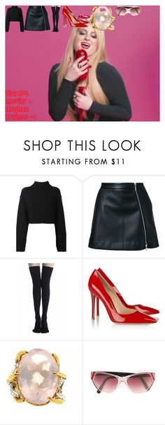 """""""Lips Are Movin' ~ Meghan Trainor #1"""" by oroartye-1 on Polyvore featuring DKNY, Guild Prime, Gianvito Rossi, Tessa Metcalfe and Yves Saint Laurent"""
