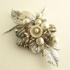 Vintage Christmas corsage. `