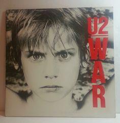 U2 - WAR - VINYL LP RECORD ALBUM ISLAND EX #RocknRoll