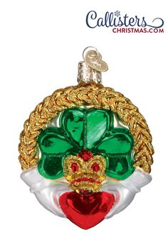 Find a Claddagh Ornament or shop our entire collection of Old World Christmas ornaments for more selection . Our beautifully crafted ornaments make a great keepsake . Shop our large collection of high quality Christmas ornaments for all occasions Irish Christmas, Old World Christmas Ornaments, Christmas Gift Box, Christmas Decorations, Christmas Things, Merry Christmas, Holiday Decor, Ornament Hooks, Glass Ornaments