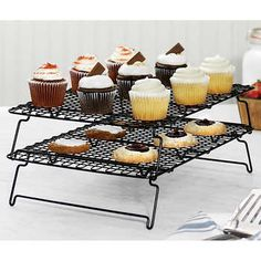 whilesupplieslast | Costco Gas Dryer, Kitchen Appliance Packages, Cooling Racks, Steel Racks, Spa Gifts, Stainless Steel Material, Kitchen Essentials, Bakeware, Mini Cupcakes