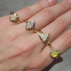 Ethiopian Opals by Gaby Marcos Atelier