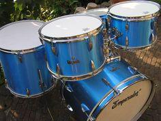 Emperador Drums Vintage Drums, How To Play Drums, Drum Sets, Drummers, Drum Kit