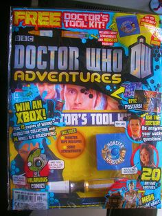 Dr Who Adventures Magazine No.324. For 3rd-16th of July.