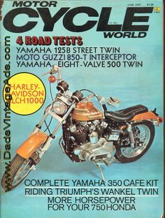 1975 Harley-Davidson Sportster XLCH 1000 Road Test/Specs