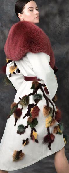 Amal Sarey Sonbahar-Kış 2017-2018 - Hazır giyim - http://tr.orientpalms.com/Amal-Sarey